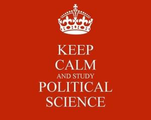 Keep Calm and Study Political Science